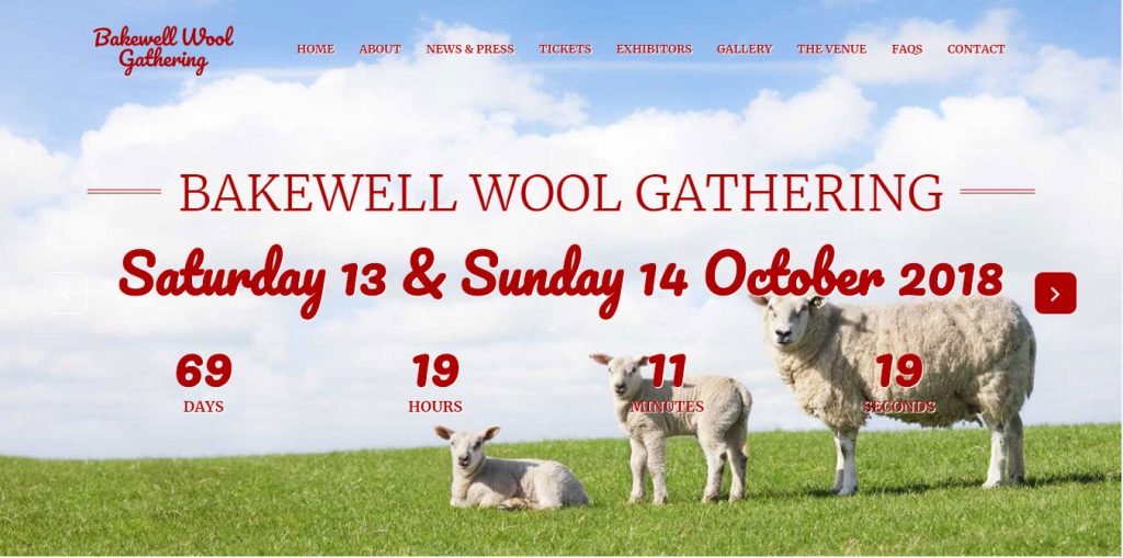 Bakewell Wool Gathering home page